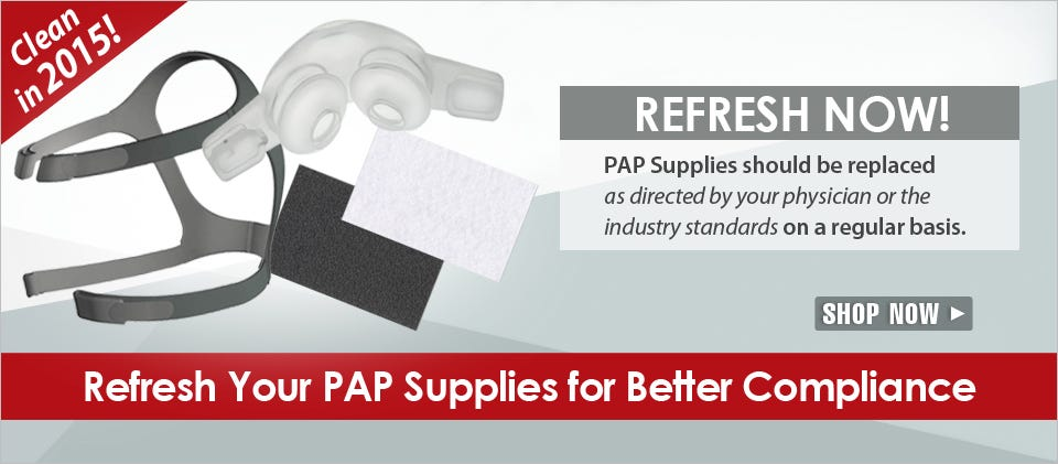 Refresh Your PAP Supplies