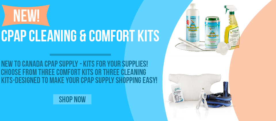 New CPAP Cleaning and Comfort Kits