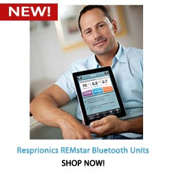Respironics RESstar Bluetooth PAP units